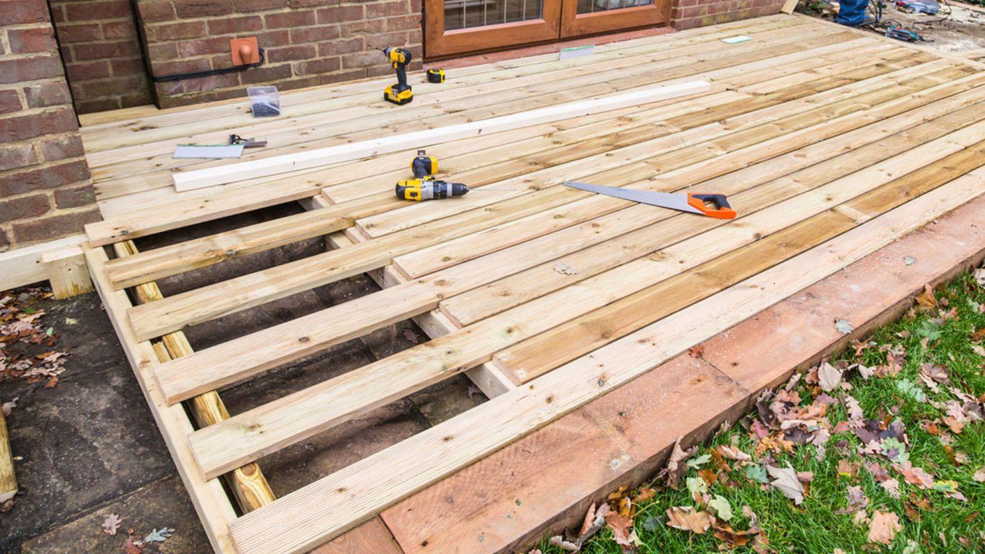 Deck Repair Services Chesterfield VA